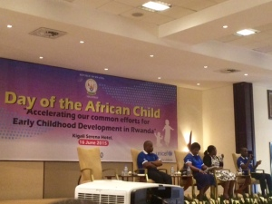 It was an honor to be in attendance at the interagency meeting that celebrated the Day of the African Child.